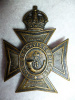 M67 - The Brockville Rifles Cap Badge, Scully